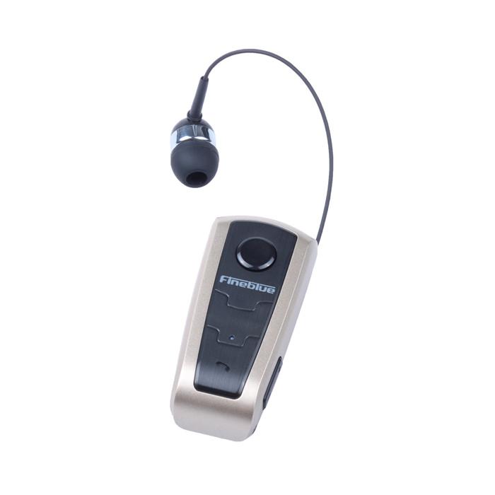 אוזנית בלוטוס קליפס עם כבל נמתח
