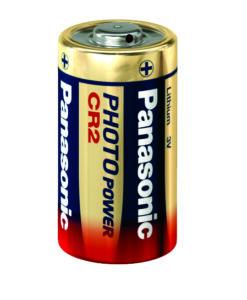 סוללת ליתיום PANASONIC 3V CR2