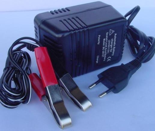 מטען אלקטרוני למצבר/סוללה עופרת 24V LEAD ACID
