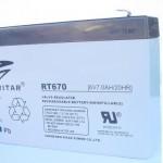 מצבר/סוללה נטען LEAD ACID TP 6V 7AH