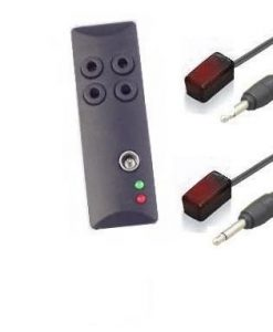 מכלול 2 X עינית אינפרא רד לשימוש בשלט הרחוק על מכשירים סגור ברהיט