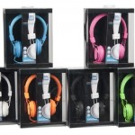 אוזניות קשת 6 צבעי נאון מסידרת בייסיק גרונדיג