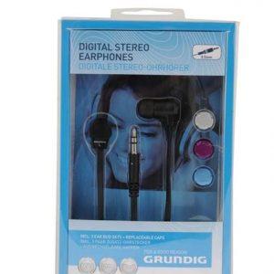 אוזניות סיליקון בתוך האוזן +לחצן on/off גרונדיג