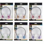 אוזניות ספורט קשת בתוך האוזן ב- 6 צבעים POLAROID
