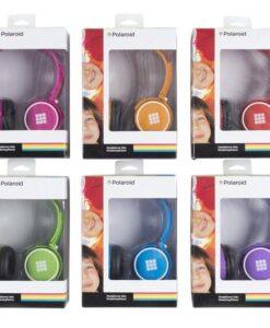 אוזניות POLAROID נאון לילדים ב 6 צבעים