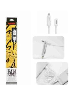 REMAX כבל משולב אייפון ו-MICRO USB