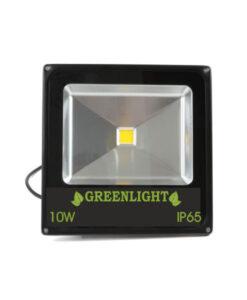 פרוז'קטור לד 10W תאורת הצפה לד LED Floodlight 12v צבע אדום עם דוקרן לגינה