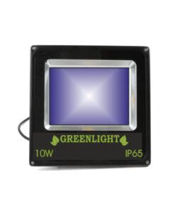 פרוז'קטור לד 10W תאורת הצפה לד LED Floodlight 12v צבע כחול