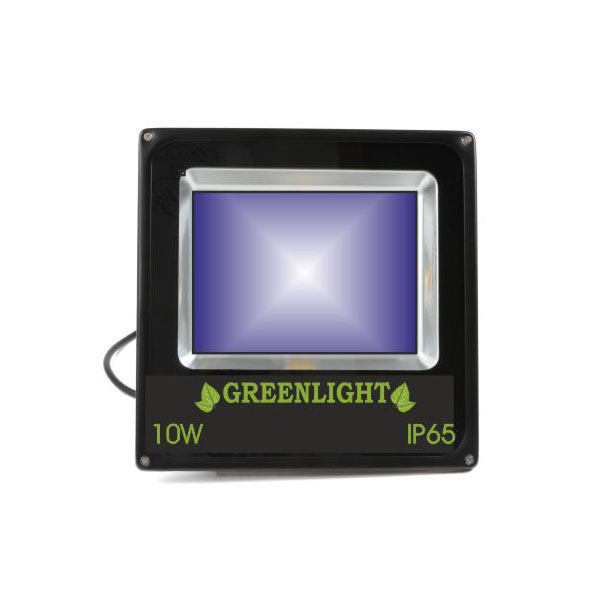 פרוז'קטור לד 10W תאורת הצפה לד LED Floodlight 12v צבע כחול
