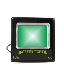 פרוז'קטור לד 10W תאורת הצפה לד LED Floodlight 12v צבע ירוק