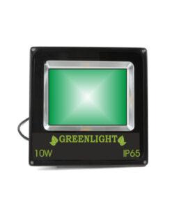 פרוז'קטור לד 10W תאורת הצפה לד LED Floodlight 12v צבע ירוק