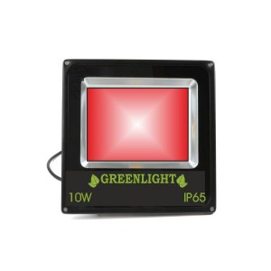 פרוז'קטור לד 10W תאורת הצפה לד LED Floodlight 12v צבע אדום