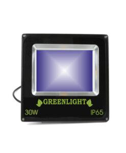 פרוז'קטור לד 30W תאורת הצפה לד LED Floodlight 12v צבע כחול