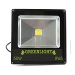 פרוז'קטור לד 50W תאורת הצפה לד LED Floodlight 12v צבע לבן
