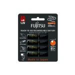 רביעיית סוללות נטענות 2450mAh AA Fujitsu תוצרת יפן