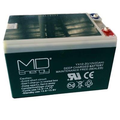 MD ENERGY GEL 12V 20 AH