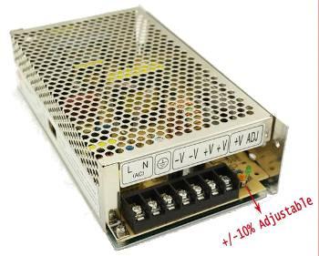 מצטיין ספק כוח/שנאי מתכת מזווד 12V 12A DC | ניו-ליין אלקטרוניקס AE-67