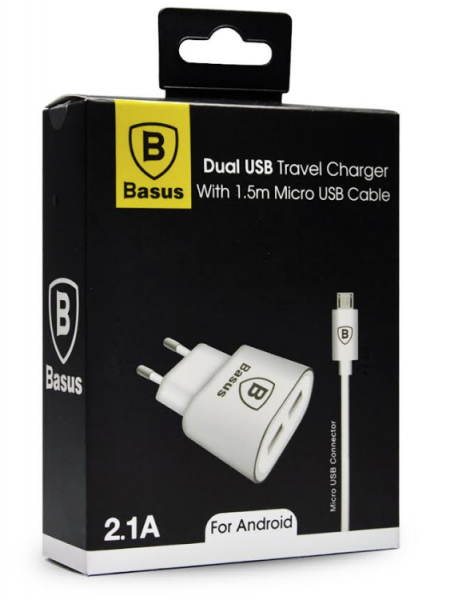 BASUS ANDROID CHARGER 2.1A
