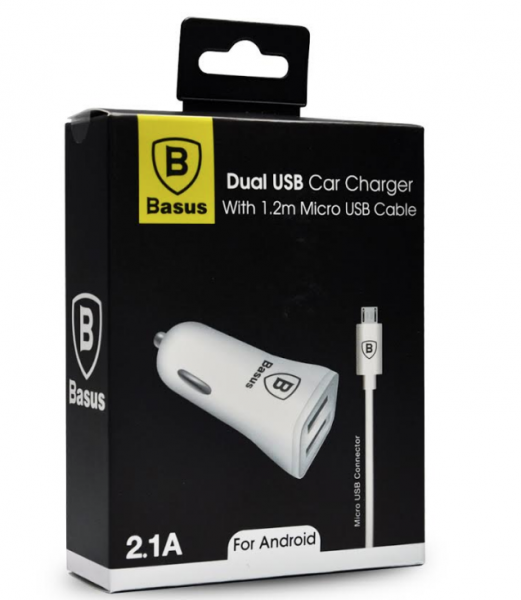 BASUS CAR CHARGER 2.1A